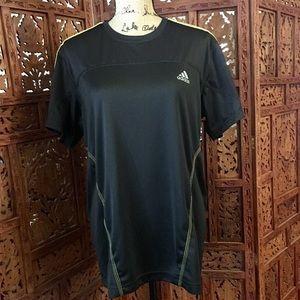Black/yellow Men's Adidas Running Climacool Shirt